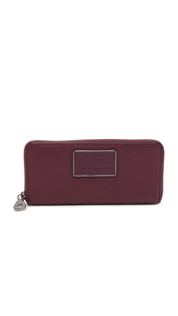 Marc By Marc Jacobs Ligero Slim Zip Around Wallet - Cardamom