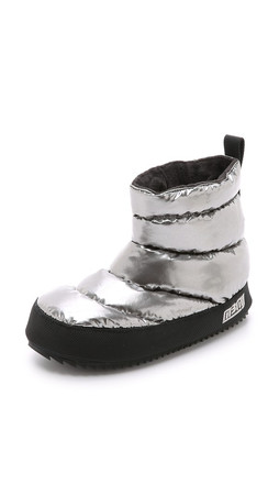 Marc By Marc Jacobs Macdougal Tent Booties - Silver