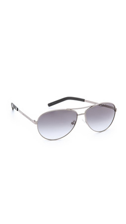 Marc By Marc Jacobs Metal Aviator Sunglasses - Ruthenium