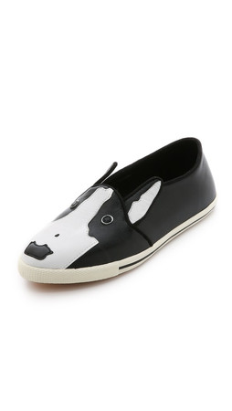 Marc By Marc Jacobs Neville Slip On Sneakers - Black