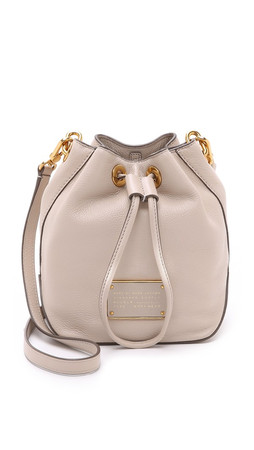 Marc By Marc Jacobs New Too Hot To Handle Drawstring Bucket Bag - Papyrus