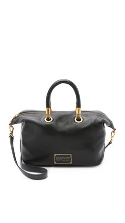 Marc By Marc Jacobs New Too Hot To Handle Satchel - Black