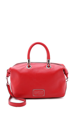 Marc By Marc Jacobs New Too Hot To Handle Satchel - Cambridge Red