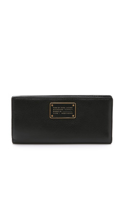 Marc By Marc Jacobs New Too Hot To Handle Tomoko Wallet - Black