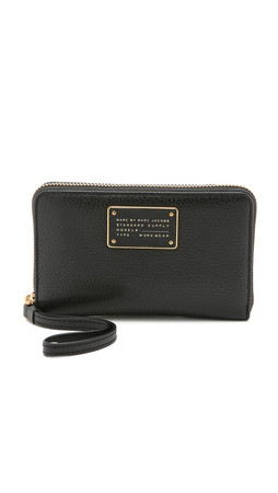 Marc By Marc Jacobs New Too Hot To Handle Wingman Wristlet - Black