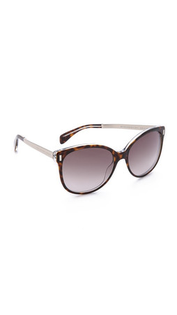 Marc By Marc Jacobs Oversized Sunglasses - Havana/Brown Gradient