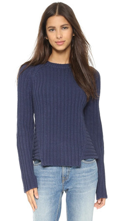 Marc By Marc Jacobs Ribbed Sweater - Dark Ocean