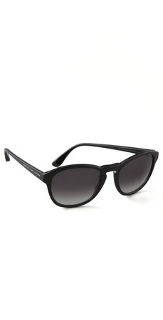 Marc By Marc Jacobs Round Sunglasses - Black