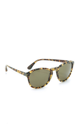 Marc By Marc Jacobs Round Sunglasses - Havana