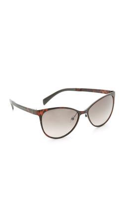 Marc By Marc Jacobs Sleek Sunglasses - Crystal Havana/Brown Gradient