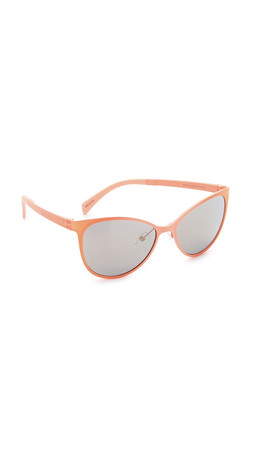 Marc By Marc Jacobs Sleek Sunglasses - Crystal Salmon/Bronze