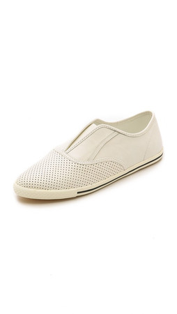 Marc By Marc Jacobs Slim Kicks Slip On Sneakers - Talc