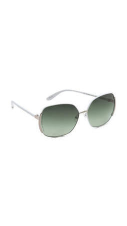 Marc By Marc Jacobs Slim Line Sunglasses - Bright White