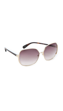 Marc By Marc Jacobs Slim Line Sunglasses - Gold