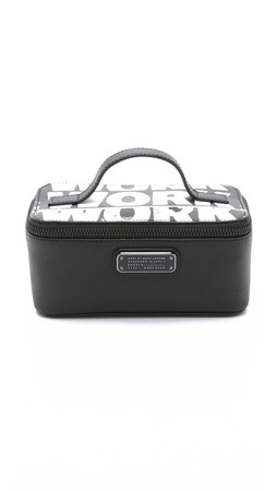 Marc By Marc Jacobs Sophisticato Www Small Travel Cosmetic Case - Black Multi
