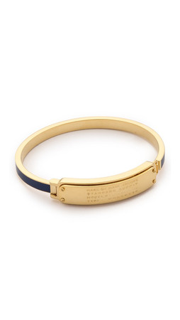 Marc By Marc Jacobs Standard Supply Hinge Cuff Bracelet - Sapphire