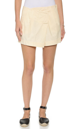 Marc By Marc Jacobs Summer Cotton Shorts - Whey