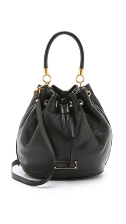 Marc By Marc Jacobs Too Hot To Handle Bucket Bag - Black