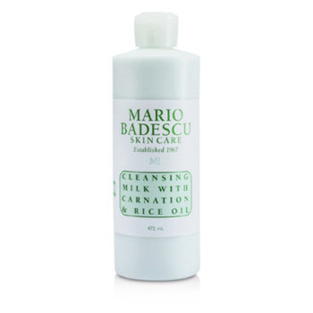 Mario Badescu Cleansing Milk With Carnation & Rice Oil - For Dry/ Sensitive Skin Types 472ml/16oz