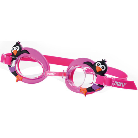 Maru Penguin Junior Swim Goggle - One Size Pink