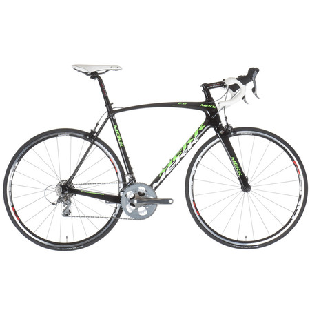 Mekk Poggio 2 Tiagra 2015 - 50cm Green/White   Road Bikes