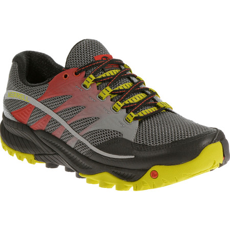 Merrell All Out Charge Shoes () - UK 11 Grey/Red/Yellow