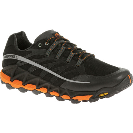 Merrell All Out Peak Shoes (SS16) - UK 7 Black/Grey