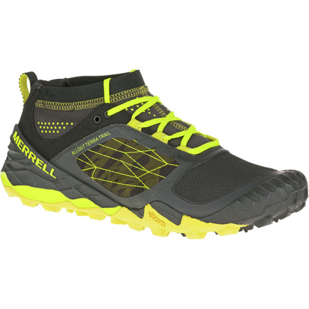 Merrell All Out Terra Trail Shoes (SS16) - UK 12 Yellow/Black