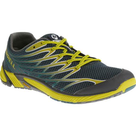 Merrell Bare Access 4 Shoes () - UK 8 Green/Yellow