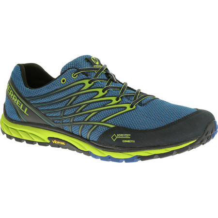 Merrell Bare Access Trail GORE-TEX® Shoes () - UK 8.5 Blue/Lime