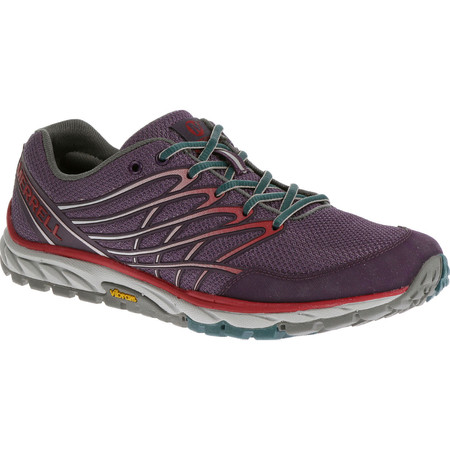Merrell Women's Bare Access Trail Shoes () - UK 4 Purple/Red
