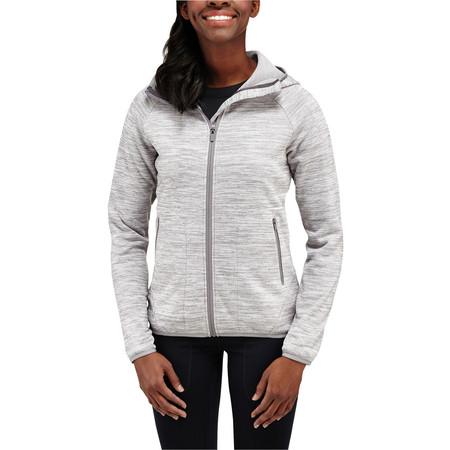 Merrell Women's Phlox Fill Zip Hoodie -  - Large Grey Heather