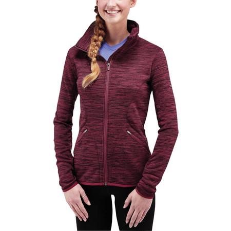 Merrell Women's Phlox Full Zip Fleece -  - Large Maroon Heather