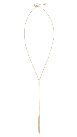 Michael Kors Matchstick Y Necklace - Gold