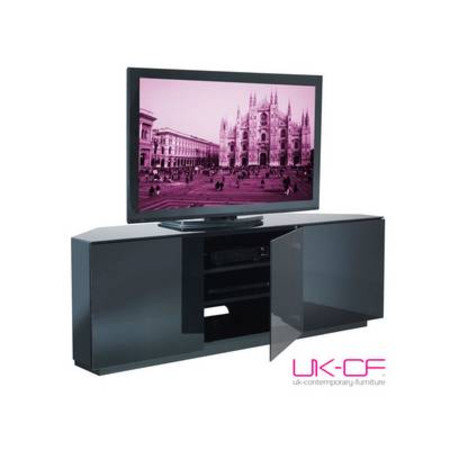 Milan TV Cabinet Black