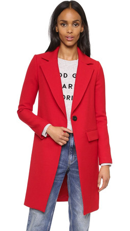 Milly Claudia Coat - Poppy