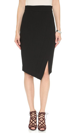 Milly Pencil Skirt - Black