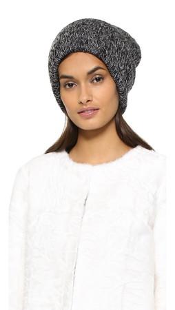 Missoni Knit Hat - Black/Grey
