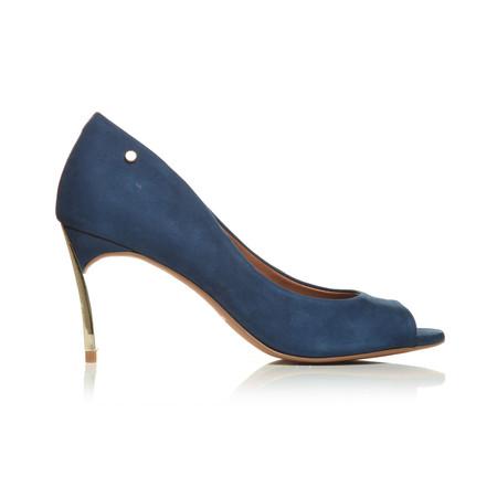 Moda in Pelle Camdon Blue Medium Occasion Shoes