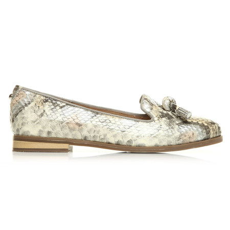 Moda in Pelle Enola Natural Low Smart Shoes