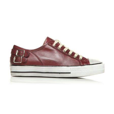 Moda in Pelle Fiannas Burgundy Low Leisure Shoes