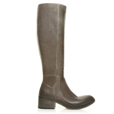 Moda in Pelle Gabriele Brown Medium Casual Long Boots