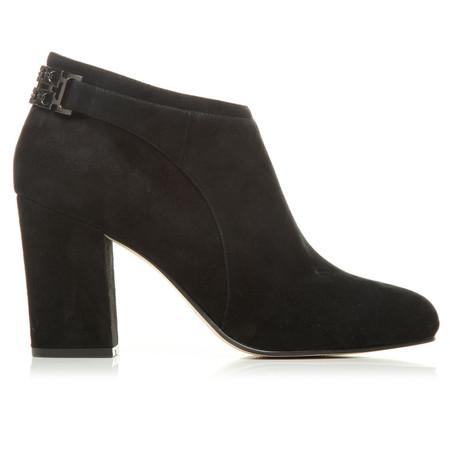 Moda in Pelle Kadina Black High Smart Short Boots
