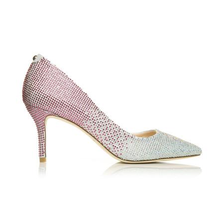 Moda in Pelle Karlita Fuschia Medium Occasion Shoes