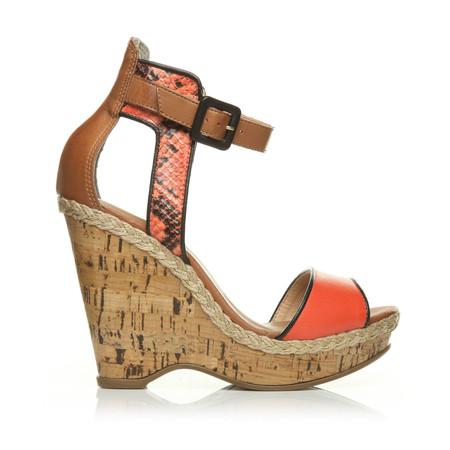 Moda in Pelle Patrizia Coral Very Hight Casual Sandals