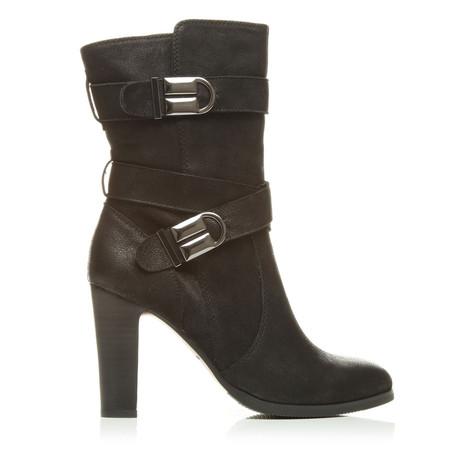 Moda in Pelle Protaras Black High Smart Short Boots