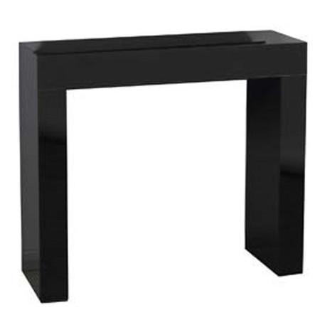 Morris Mirrors Sidi Black High Gloss Console Table