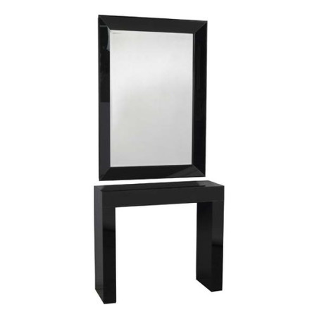 Morris Mirrors Sidi Glass Console Table - with mirror