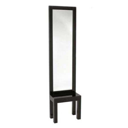 Morris Mirrors Sidi High Gloss Black Hall Stand