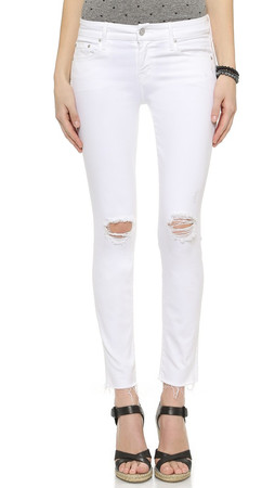 Mother Looker Ankle Fray Jeans - Little Miss Innocent